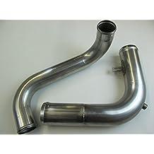 Peterbilt 379 stainless Radiator Coolant Tubes Upper & Lower Cat C15 C16 3406E