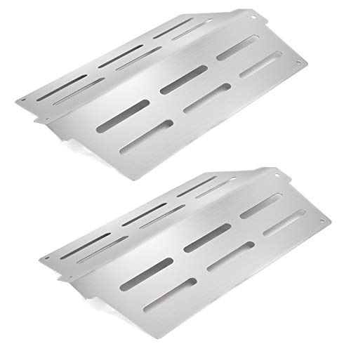 Hongso 7622 13.25 Heat Deflector Replacement for Weber Genesis 300 Genesis EP/S 310 320 330 (with Front Mounted Control Panels) Gas Grills (Compared to The Weber 62756 65505 Flavorizer Bars) SPG622