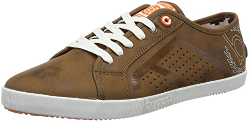 Bugatti F3102pr6n, Men's Low-Top Sneakers Brown (Cognac 644 644)