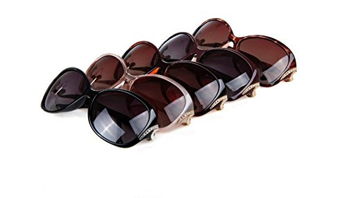 125 champán 55 con 100 de lentes 140 MM UV unisex Rojo protección oscuras Gafas sol DaoRier w7WOqvH0Fq