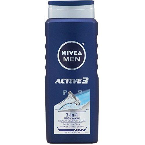 Nivea Men Bdy Wsh Active Size 16.9z