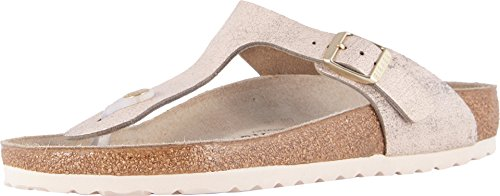 Rose Leather - Birkenstock Women's, Gizeh Sandals R Fit Rose 3.7 M