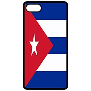 Cuba Flag - Black Apple Iphone 6 (4.7 Inch) Cell Phone Case - Cover