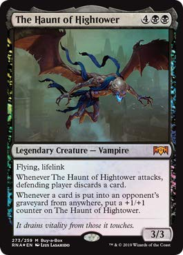 (Magic The Gathering The Haunt of Hightower - Foil Buy-a-Box Promo Ravnica Allegiance)