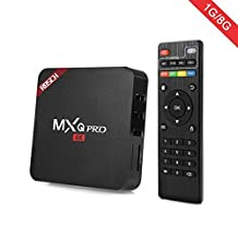 RBSCH MXQ PRO TV BOX Android Amlogic S905 Quad Core 1gb RAM 8gb Flash 64bits 4K Support Wifi HDMI DLNA Smart Tv Box