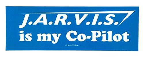 (Nani?Wear Geek Bumper Sticker: Jarvis is my)