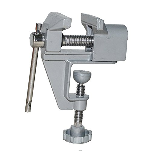 Gigibon GG-899 Mini Small Hobby Vice Craft Bench Vise, Quality Aluminum Table Vice, 1.6