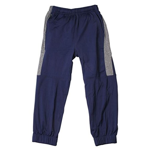 Boys Pants Willy Wes And (Wes and Willy Little Boys' Performance Joggers (4, Midnight))