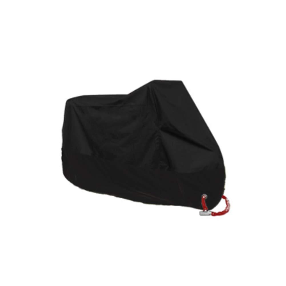 Color Negro Naisidier Suzuk XXXL Yamaha Funda Impermeable para Motocicleta con Revestimiento de Plata Resistente al Polvo para Honda