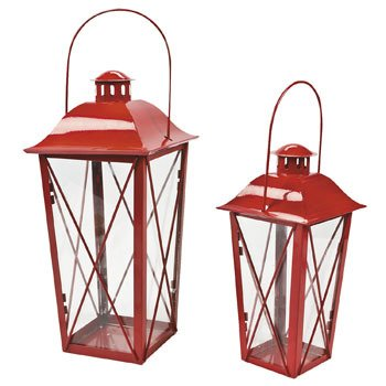 Red Lamterns - LED Candle Decorative Accessories