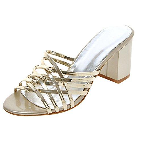Aperte Donna sulla Gold AIYOUMEI Caviglia dqgaPnwt