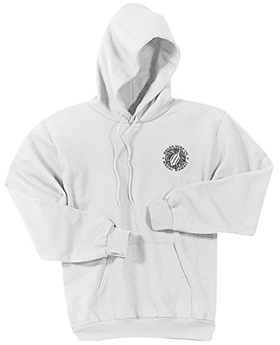 (Koloa Hawaiian Turtle Logo Hoodies-Hooded Sweatshirt-White/b-XL)
