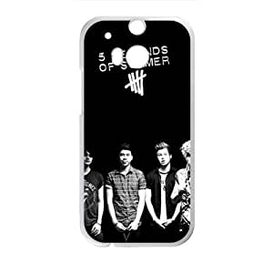 DAZHAHUI The 5 Seconds Of Summer Band Cell Phone Case for HTC One M8 by ruishername