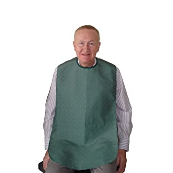 Assisted Living Clothing Adult Large Bib Ideal For Elderly Or Disabled
