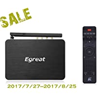 Egreat A5 Smart Android 5.1 TV Box 3D 4K Blu-ray Smart Media Player with HDR USB3.0 Quad Core HI3798CV200 CPU Android Tvbox (With No Disc Slot)