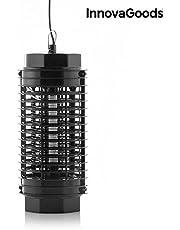 InnovaGoods Lámpara Antimosquitos KL-1500 4W Negro, Mediano