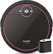 Noisz by ILIFE, Robot Aspirador S5 con modo MAX, Electropared, puerto de succión sin enredos, delgado y silenc