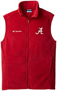 NCAA Alabama Crimson Tide Collegiate Flanker Vest, Red Velvet, Medium