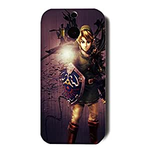 The Legend of Zelda Design Simple Style MK734282 3D Hard Plastic Case Cover for Htc One M8