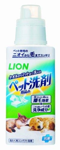 ライオン ペット用品の洗剤 400g