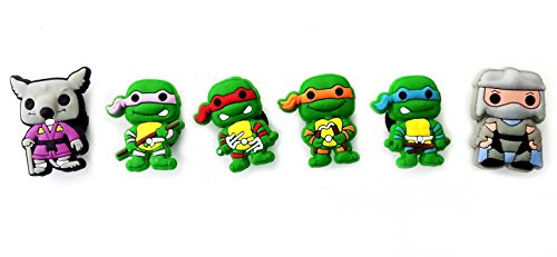 April Oneil Ninja Turtle Costume (AVIRGO 6 pcs Customise Your Shoe Wristband 10 mm Hole Set # 79-1)