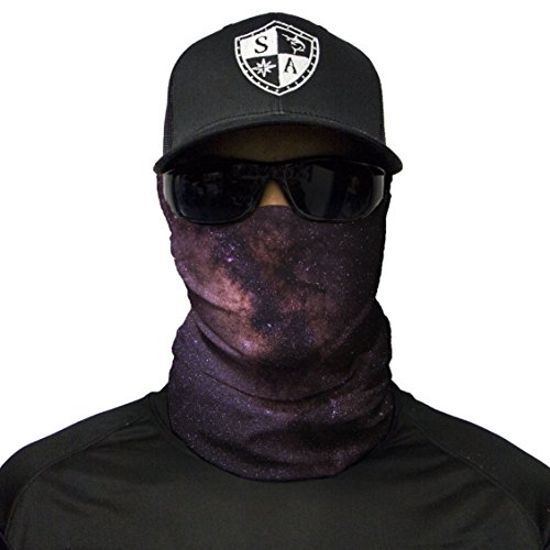 S A 1 Face Shield Cloth Face Shield, Face Shields for Men and Face Shields for Women – UV Face Shield by S A (Image #8)