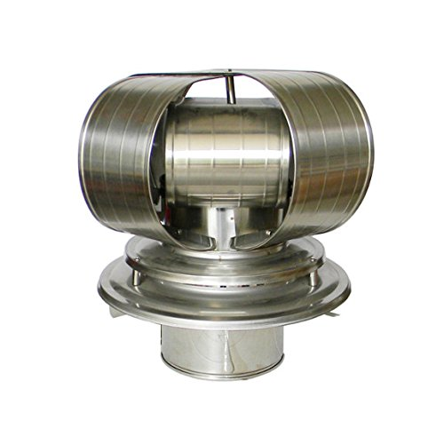 """8"""" Stainless Steel Vacu-Stack Chimney Cap TDW for Air Cooled Chimney Pipe"""