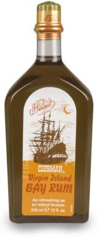 Clubman Pinaud Virgin Island Bay Rum, 12 Ounce (12.0 oz (Set of 2))