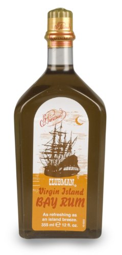 Clubman Pinaud Virgin Island Bay Rum, 12 Ounce (12.0 oz (Set of (Pinaud Bay Rum)