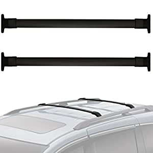 alavente roof rack cross bars for honda odyssey 2011 2012 2013 2014 2015 2016 2017. Black Bedroom Furniture Sets. Home Design Ideas