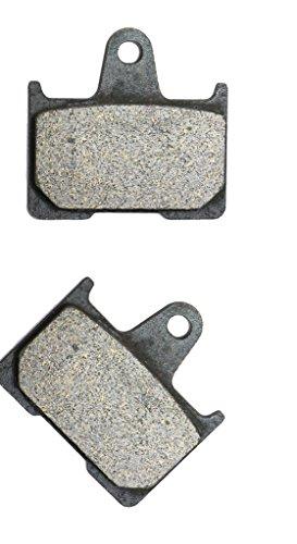 1400 Shoes (CNBK Rear Brake Shoe Pads Semi-met fit for KAWASAKI Street Bike ZZR1400 ZX1400 ZZR 1400 ABS ZX 1400 B7F 06 07 2006 2007 1 Pair(2 Pads))