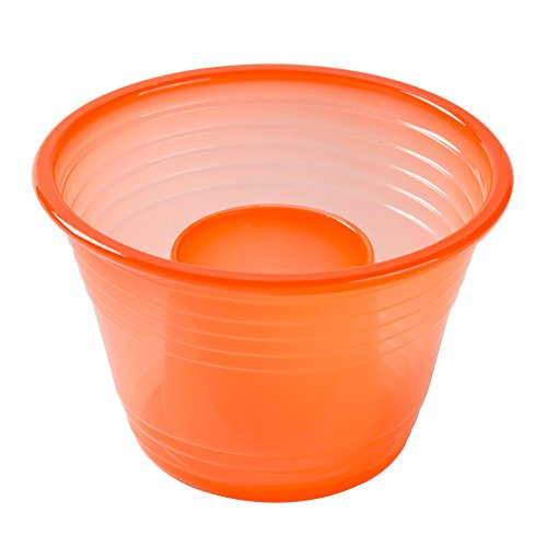 Fineline NEON ORANGE Blaster Bomb Shot Cups / Power Bombs, 50-PACK w/ FDL Party Picks]()
