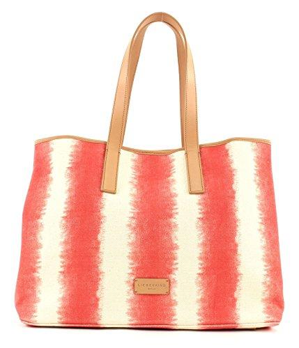 LIEBESKIND BERLIN Savannah Beach Bag Striped Red