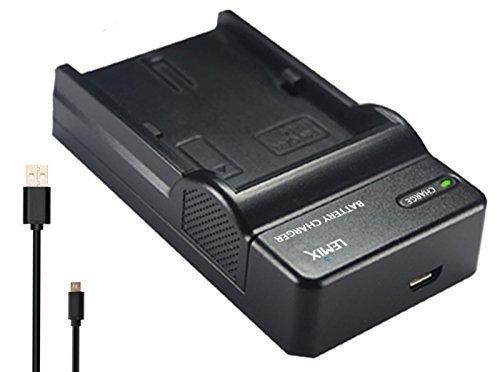 6 opinioni per Lemix (W126) Caricatore USB Ultra Sottile slim per batterie Fujifilm NP-W126 per