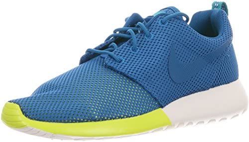 Nike Roshe Run Men s Sneakers Military Blue Turbo Green Summit White 511881-400