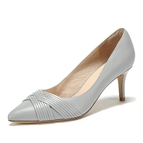 Mode Chaussures Mouton Noir 4 Talons 7cm WeddingDaphne EU 5 37 en Weave Black Ruban De Cour Haute Patchwork UK Chaussures Sexy Peau Femme Femmes Travail FpWn7n