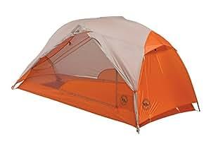 Big Agnes Copper Spur HV UL Backpacking Tent, Gray/Orange, 1 person