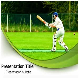 Cricket Powerpoint Template - Cricket Powerpoint Backgrounds - Cricket (PPT) Templates
