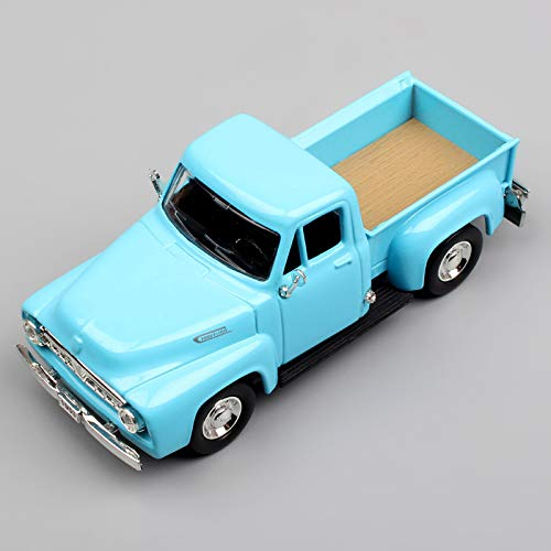 GreenSun 1:43 Scale 1953 Ford Pickup Pick up Truck F100 Mercury M Metal Die cast Modeling car Automobile for Collectable