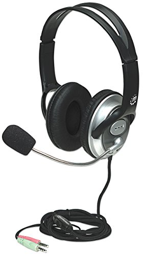 Best Manhattan Products Computer Headsets - MANHATTAN Classic Leather Earpad Headset