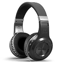 HOT Eagle Bluedio Turbine Hurricane Ht Wireless Bluetooth Stereo Headset Hifi Headphone(Black)
