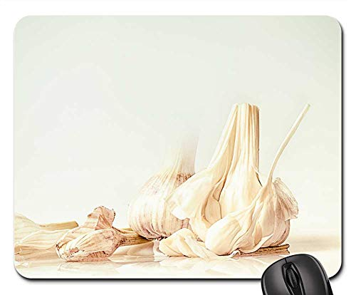 - Mouse Pad - Garlic Sweet Garlic Clove of Garlic Head of Garlic