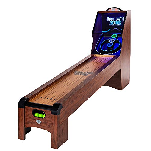Lancaster 108 Inch Classic Arcade Roll and Score Ball Alley Game Machine Table
