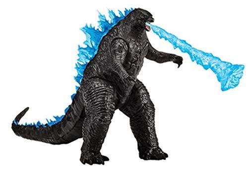 """MonsterVerse Godzilla vs. Kong 6"""" Hong Kong Battle (2 Piece Fighter Jet/ Heat Wave)"""