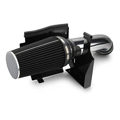 Dromedary Cold Air Intake System w/Heat Shield For GMC Chevy V8 4.8L/5.3L/6.0L 1999-2006 4
