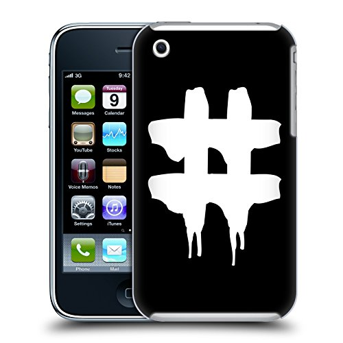 Official Been Trill Hashtag 2 Black And White Hard Back Case for Apple iPhone 3G / 3GS