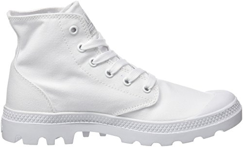 White Palladium a Hi Pampa Chrome Sneaker 420 Alto Collo Mono Donna Bianco vrvqFgxw