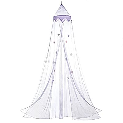 Beautiful Magical Purple Bed Canopy mosquito net