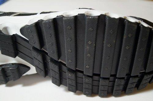 Unbekannt , Chaussures de course pour homme - Noir - Noir/blanc, 44 EU