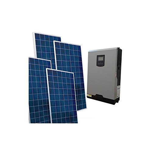 PuntoEnergia Italia - Kit Solar Casa VM2 Base 3.120W Inversor 5000W 48V Controlador 80A MPPT - KCSVM2-3120B-48-5000